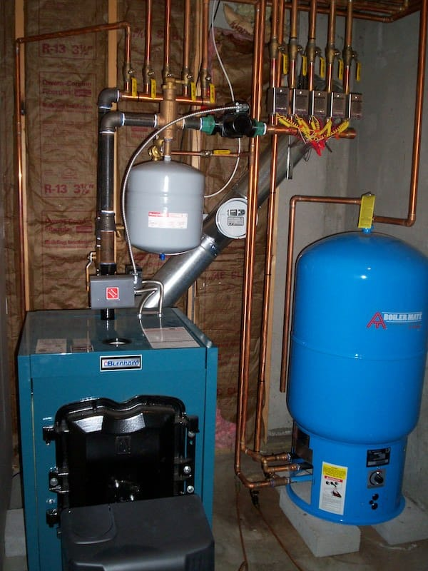 Boiler install georges fuel - George\'s Fuel