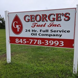 Georges Fuel Sign